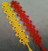 Tatting and not a lot else!: Bookmarks from Jane in South Africa
