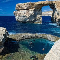 Fancy - Azure Window @ Malta