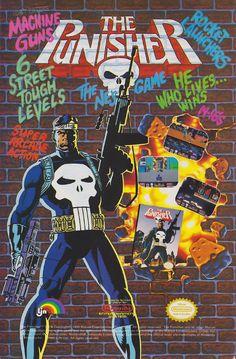 My life mantra: He who lives, wins (1991). #Marvel #NES #bitstory