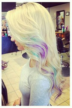 ♥♥ I can't completely get rid of my colors... maybe something like this?!