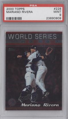 2000 Topps #228 Mariano Rivera PSA 9 New York Yankees Baseball Card | Sports Mem, Cards & Fan Shop, Sports Trading Cards, Baseball Cards | eBay!