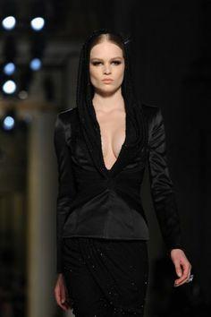 Sfilate Parigi Gennaio 2014 Alta Moda: la dea glam di Atelier Versace, special guest Lady Gaga - #black