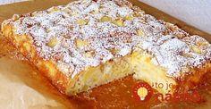 Môj najjednoduchší a najobľúbenejší koláčik. Potrebujete naň len 4 prísady. Ide o skutočne veľmi jednoduchý recept! Sweet Recipes, Camembert Cheese, Banana Bread, French Toast, Food And Drink, Yummy Food, Treats, Snacks, Diet