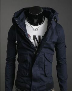 Striped Men's Winter Coat | Clothes | Pinterest | Coats, Mens ...