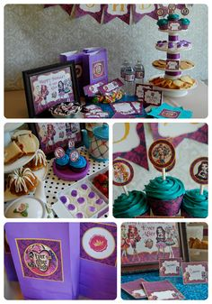 Ever After High Birthday Party Printables by BirthdayBuzzinPrints