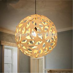 Restoring ancient ways chandelier wood light droplight  carving  pendant  living  room bar decorate  fixture lamp-in Pendant Lights from Lights & Lighting on Aliexpress.com | Alibaba Group
