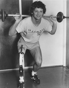 Terry Fox is pictured in an archive photo dated March Canadian Things, I Am Canadian, Canadian History, Hatley Castle, Canada Eh, Sports Figures, Strong Girls, Celebs, Celebrities