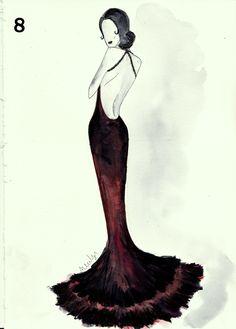 Fashion sketch 8