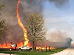 Thankfully, they rarely form into full-blown tornadoes however they are still incredibly destructive, especially if they occur amidst wild fire.