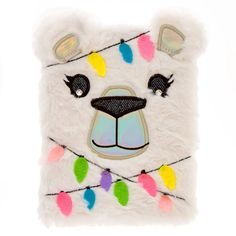 Bella the Polar Bear Light Up Plush Lock Diary, Unicorn Fashion, Unicorn Outfit, Baby Girl Party Dresses, Cheap Flower Girl Dresses, Barbie Girl Toys, Claire's Accessories, Justice Accessories, Pusheen Cute, Cute Pencil Case