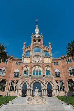 Hospital Sant Pau, Barcelona Catalonia,, #catalonia #catalunya  #catalonia/barcelona #catalonia/catalunya #artnouveau