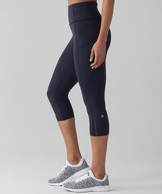 Lululemon fast and free crop - perfect summer running tights