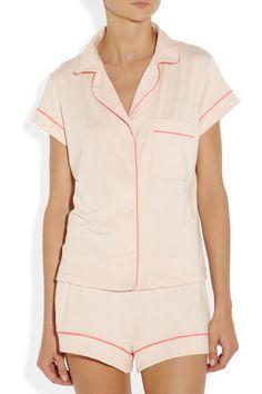 Eberjey|Gisele stretch-jersey pajama set|NET-A-PORTER.COM