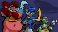 Sly Cooper and the gang :)