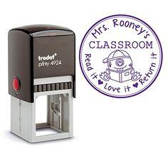 Purple Ink, Self Inking Personalized Teacher Stamp, From ... https://www.amazon.com/dp/B01M115KU7/ref=cm_sw_r_pi_dp_x_uPdkyb9J0HEQF