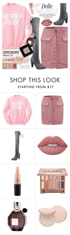 """""""Newchic"""" by noviii ❤ liked on Polyvore featuring Lime Crime, MAC Cosmetics, Urban Decay, Viktor & Rolf, Too Faced Cosmetics and Bobbi Brown Cosmetics"""