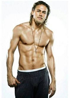 You come here often?? Lol! #CharlieHunnam #swoon