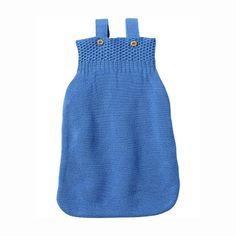 Knitted sleeping bag