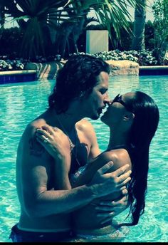 Chris Cornell and his wife