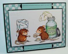 Stamped By Me - The Official House-Mouse Designs® Web Site, www.house-mouse.com, Ecards, Scrapbooking, Rubber Stamps, HappyHoppers®