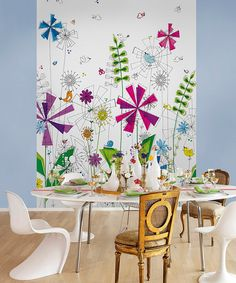 Take a look at this Funky Mural by Brewster Home Fashions on #zulily today!