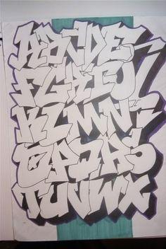 GRAFFITI GRAPHIC DESIGN GRAFFITI ALPHABET : LETTERS A-Z Sketch Design Letters A - Z for Graffiti Alphabet  on Clothes Motive Please give you...