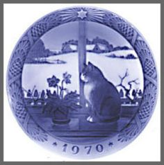 Royal Copenhagen Christmas Plate 1970. Click on the image for more information.