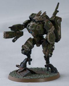 Tau Enforcer Commander