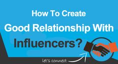 Create Relationship With Influencers