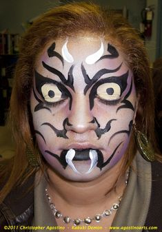 | Halloween Face Painting — Halloween Night: NYC Parks and Recreation