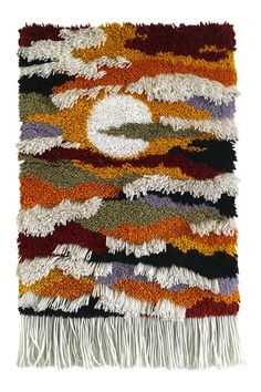 Shop textile art at Chairish, the design lover's marketplace for the best vintage and used furniture, decor and art. Weaving Wall Hanging, Weaving Art, Loom Weaving, Wall Hangings, Century Textiles, Textile Fabrics, Fabric Manipulation, Textile Artists, Fiber Art