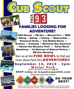 Cub Scout Join Night Flyer