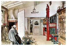 The Studio - Carl Larsson - 1895