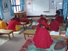 Escuela monasterio budista karmandhu