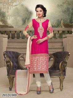 Party wear Pink Salwar Suit