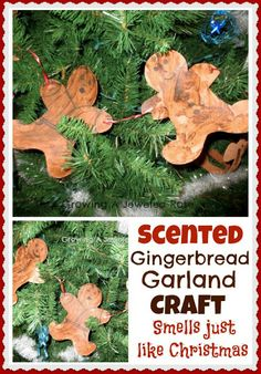 Gingerbread Christmas Craft for Kids - pinned by @PediaStaff – Please Visit  ht.ly/63sNt for all our pediatric therapy pins