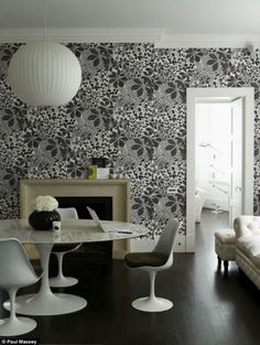 Interior Trend Watch……Black & White (and a Bit in Between)