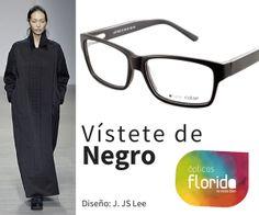 Vístete de negro y combínate con gafas de moda en Ópticas Florida #opticasflorida #Mallorca #gafas #NatureColor #moda