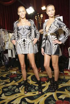 Balmain Backstage Glam