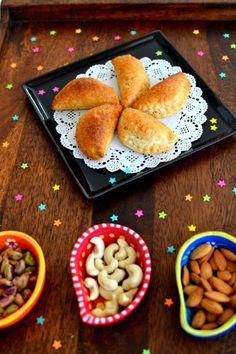 Baked gujiya