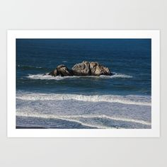 pacific, ocean, water, rock, nature, waves, san francisco, california