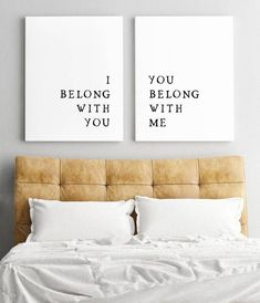 Modern Rustic Minimalist Set of 2 Prints. Gorgeous Typographic Print, perfect for a wedding gift. This is a high resolution DIGITAL download for PRINTABLE art. This print is available for instant download shown in the colour above. Want this print in a different colour? Add this