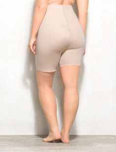 Fabulously comfortable shapewear to flatter, slim and smooth under your favorite fashions. These high waist shorts trim waist and thighs and offer tummy control for a cleaner line under clothes. Imported.