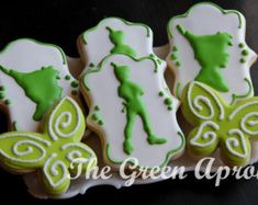 Popular items for tinkerbell cookies on Etsy