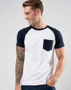 French Connection Raglan T-Shirt with Pocket