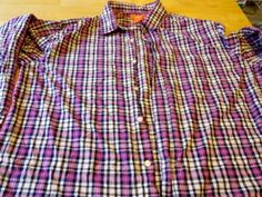 Tutorial Tuesday: Deconstructing a man's cotton dress shirt for it's fabric! Quilting Blogs, Quilting Tutorials, Image Tips, Dollar Stores, Dress Shirt, Cotton Dresses, Thrifting, Tuesday, Men Casual