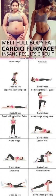 In Case You Missed: Cardio Furnace! Rapid Workout to Melt Full Body Fa… In Case You Missed: Cardio Furnace! Rapid Workout to Melt Full Body Fa… Fitness Motivation, Fitness Goals, Yoga Fitness, Fitness Exercises, Exercise Motivation, Fitness Biology, Lifting Motivation, Exercise Quotes, Sport Motivation