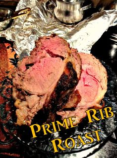 Prime Rib Roast (traditional high temp in oven searing)
