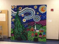Image result for bottle cap mural project panther