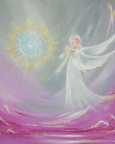 Limited angel art photo angel magic modern angel by HenriettesART